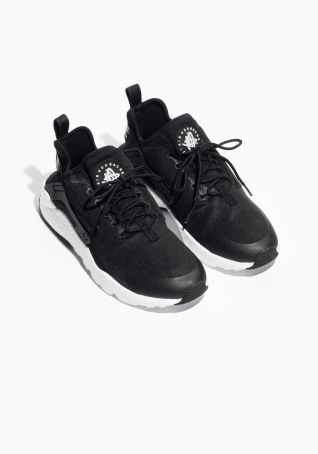 save off 56d79 0f6e4 Other Stories image 2 of Nike Air Huarache Run Ultra in Black