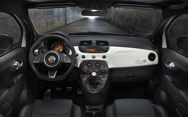 2013 Fiat 500 Abarth Interior Met Afbeeldingen