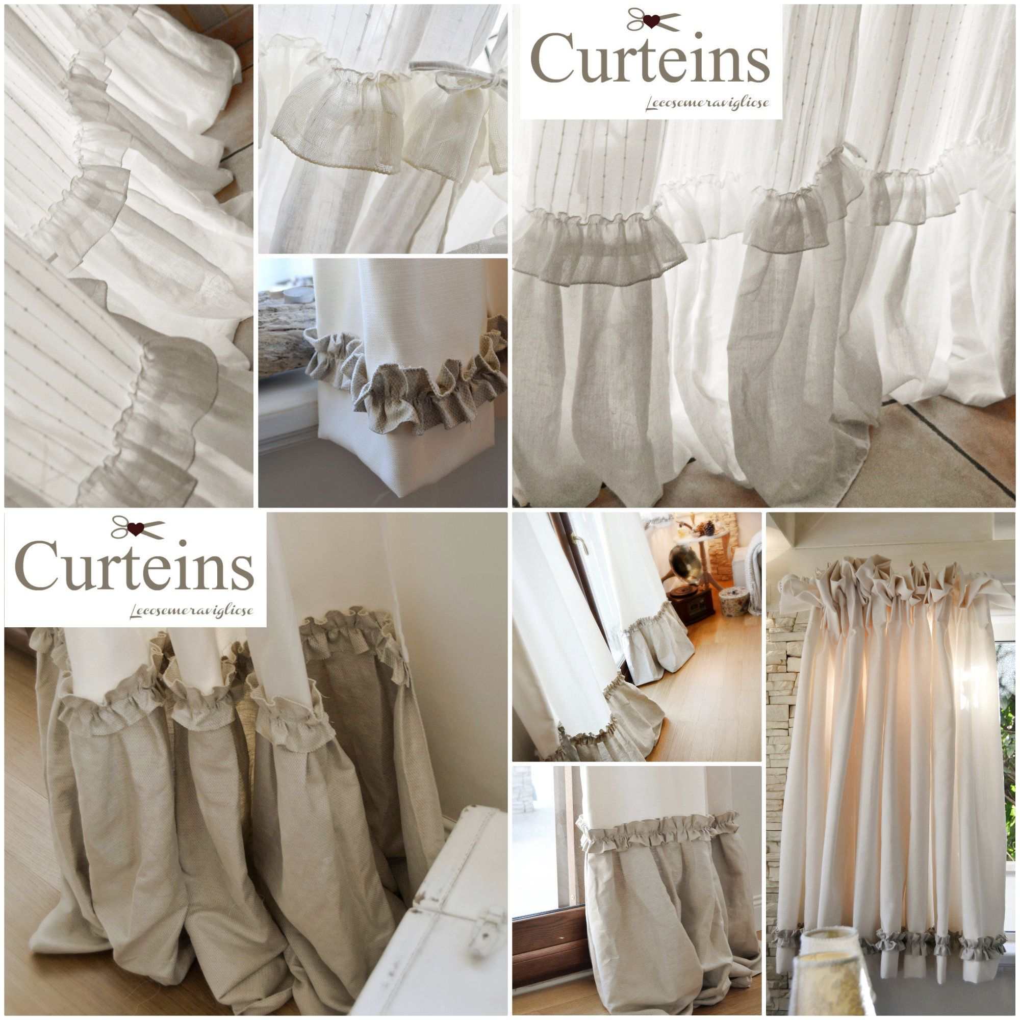 Diy Courteins For Shabby Chic Home