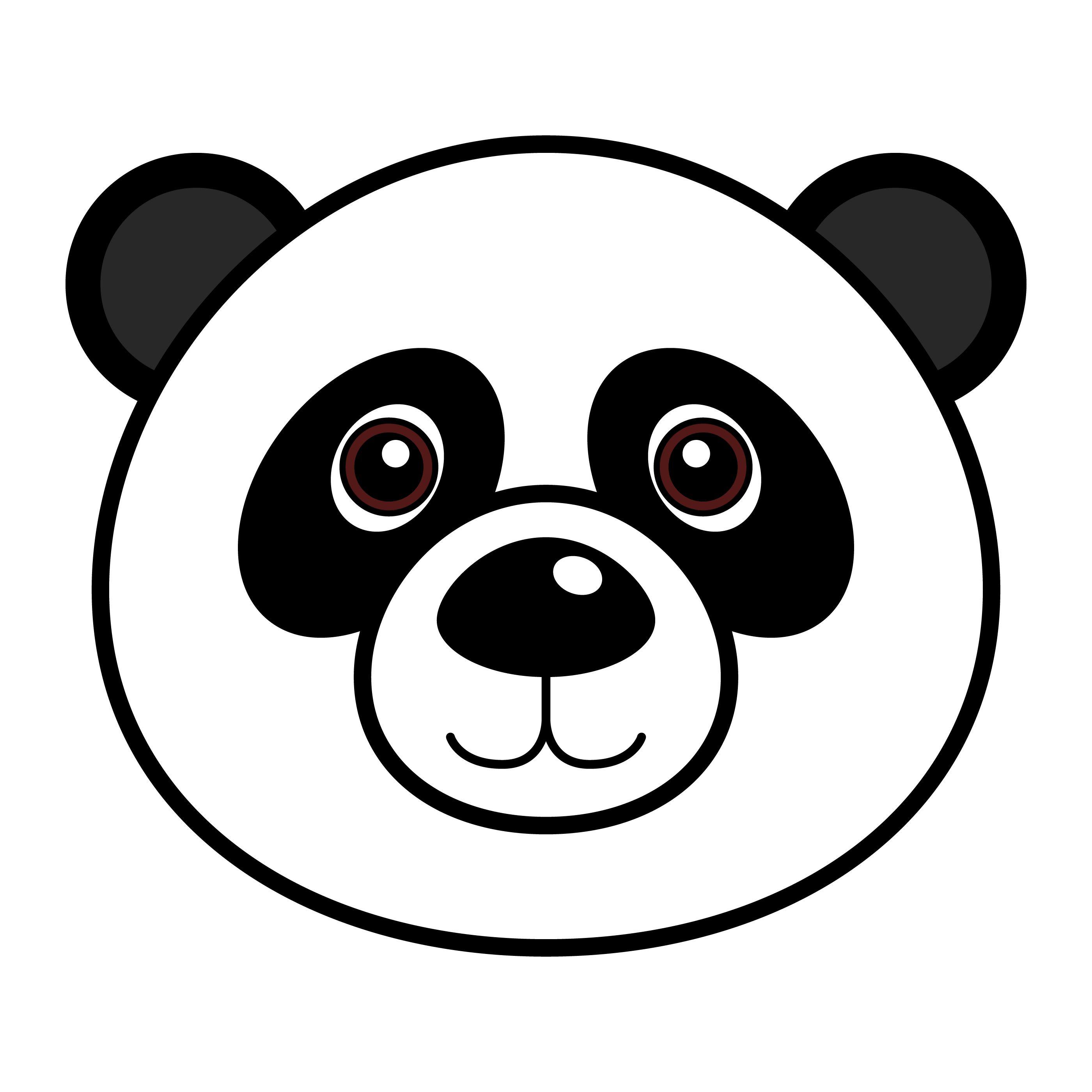 Pin By Andreita Carcamo Aros On Panda Bears Bear Coloring Pages Bear Coloring Easy Drawings