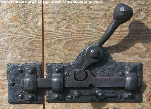 Hard Unlock 1 Jpg 500 360 Pixels I Would Like To Try Making This Out Of Wood For The Yard Gates Blacksmith Projects Blacksmithing Welding Projects