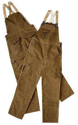 491de44f9ec64 Filson Oil Finish Double Tin Cloth Bibs - Style #14018   Gentleman's ...