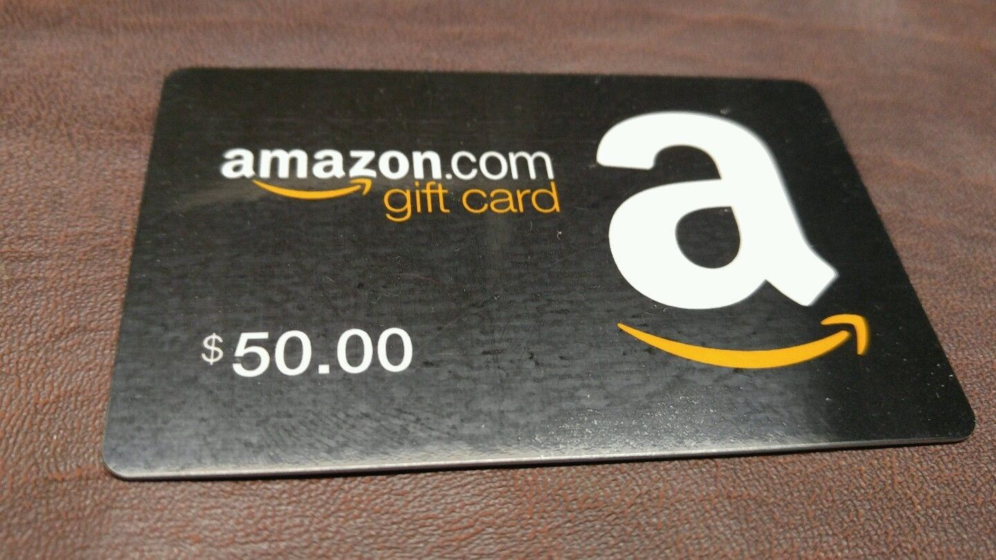 Amazon 50 Gift Card Brand New Unused Mail Delivery Only Amazon 50