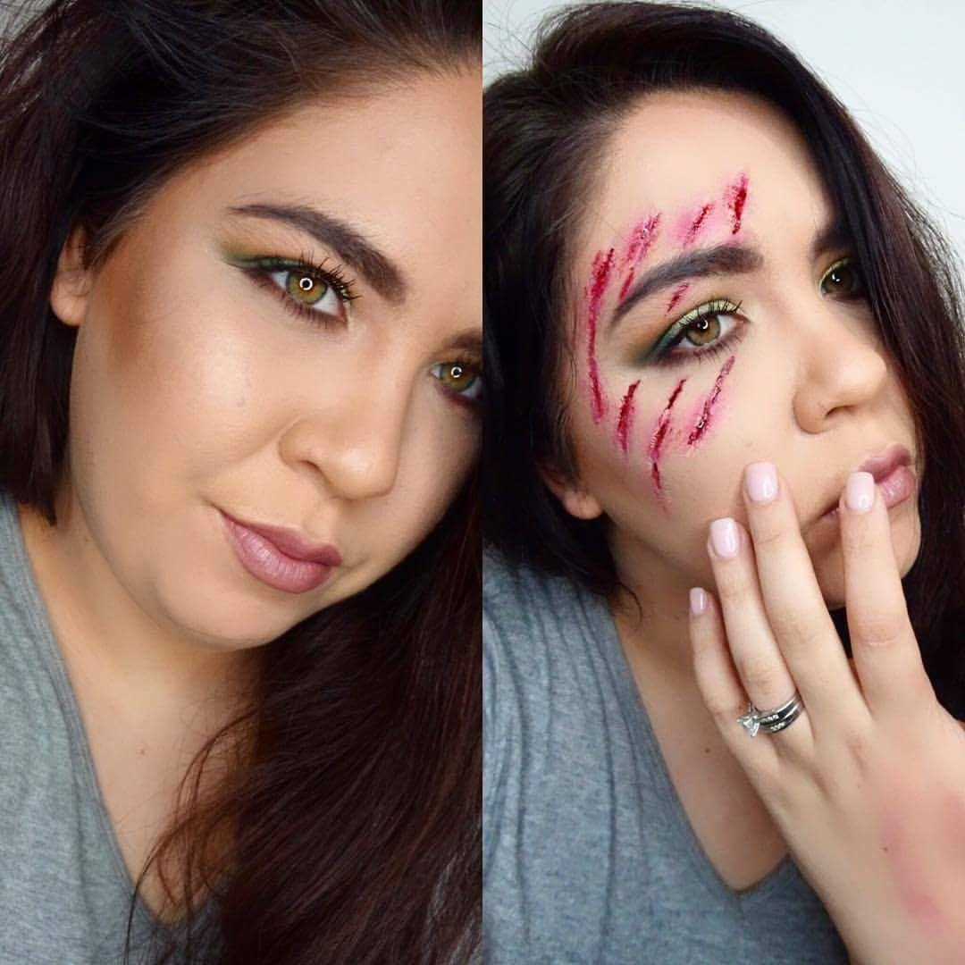 diy halloween fake wounds | cartooncreative.co