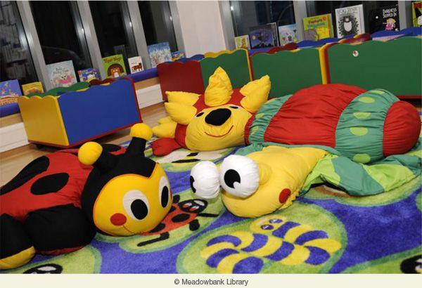 Sheffield School Interior Design   Decorating Childrenu0027s Rooms   Library