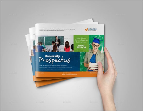 Free Education Brochure Psd Templates  Brochure Template