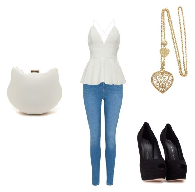 """Untitled #70"" by jordan-eshun on Polyvore featuring George and Giuseppe Zanotti"