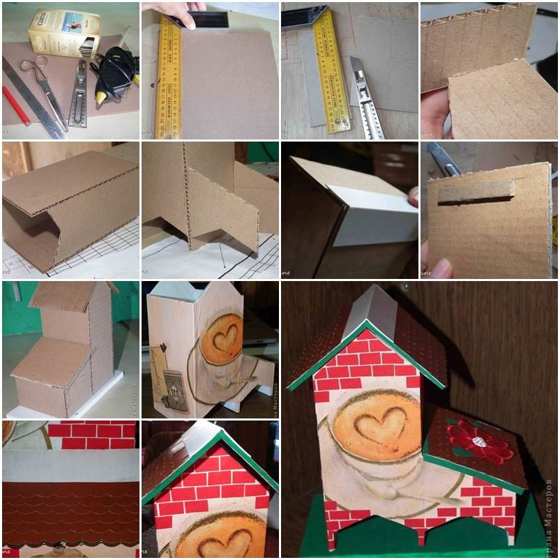 How to make cute cardboard tea bag dispenser step by step diy how to make cute cardboard tea bag dispenser step by step diy tutorial instructions how solutioingenieria Images