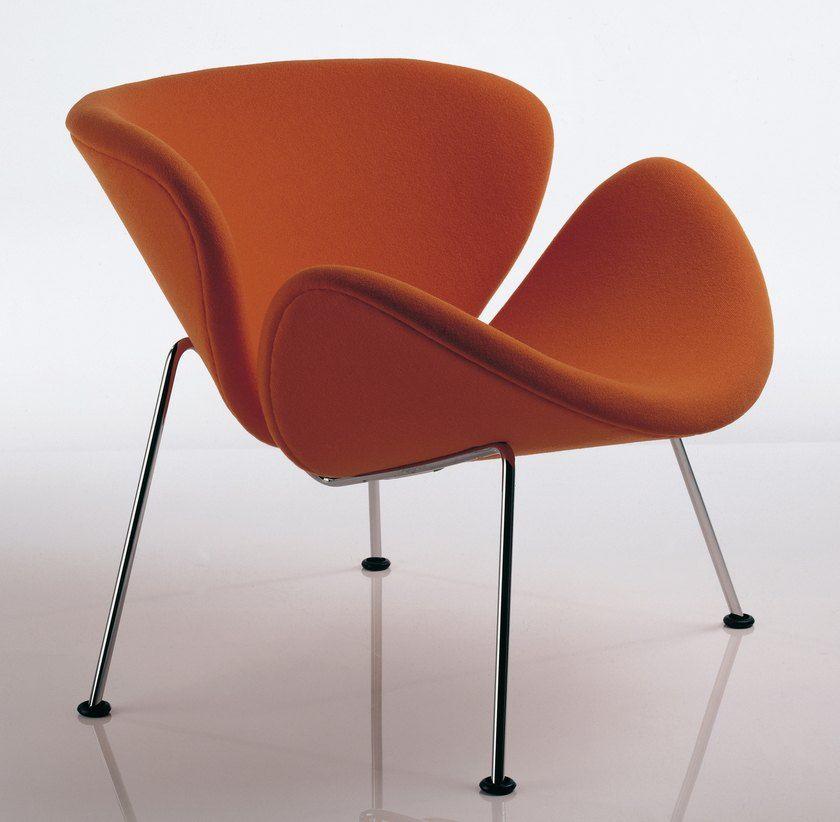 pierre paulin orange slice 1960 airfort the art of. Black Bedroom Furniture Sets. Home Design Ideas