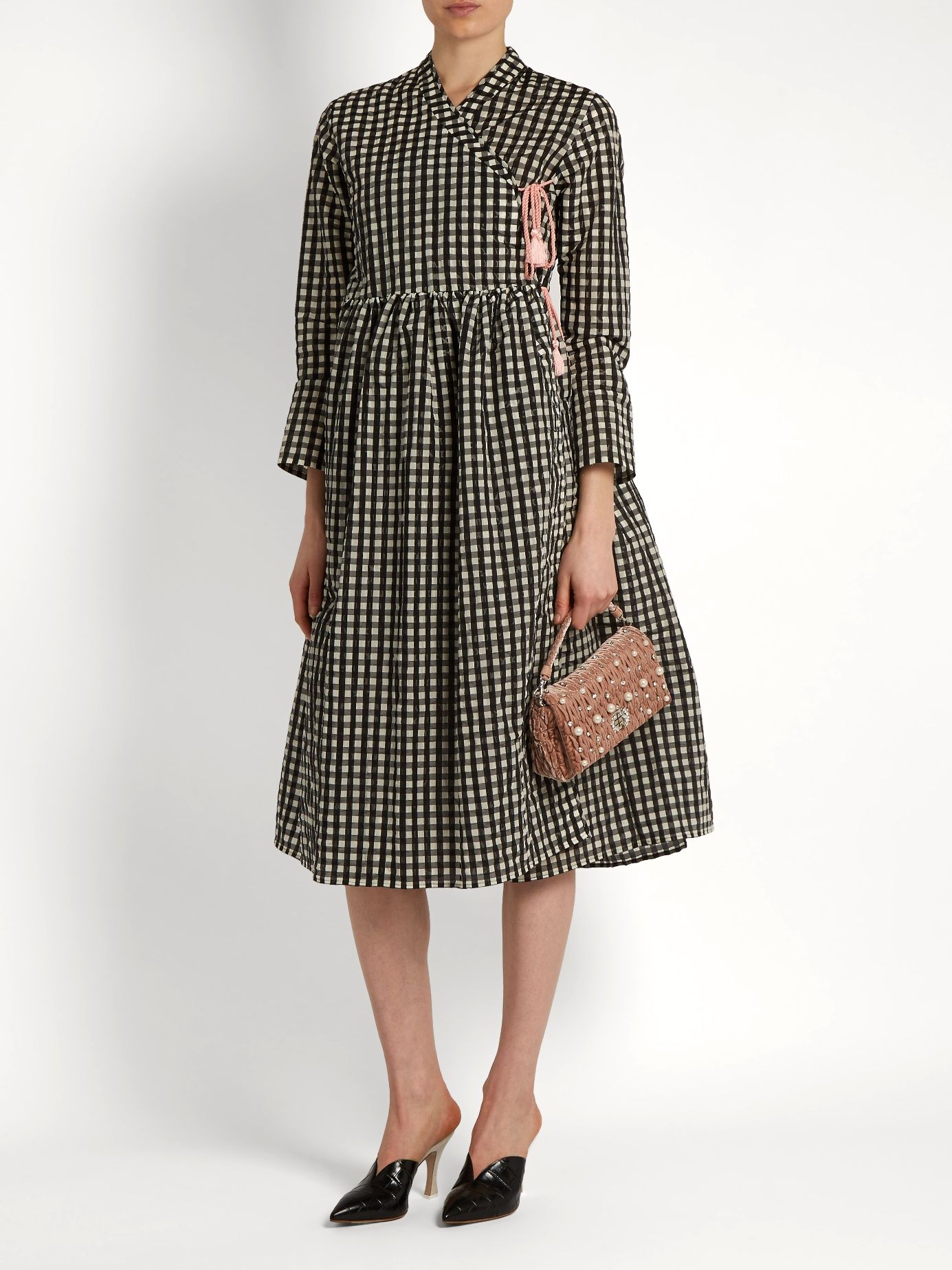 1b3c598e8f5 Click here to buy Shrimps Hermione gingham dress at MATCHESFASHION ...
