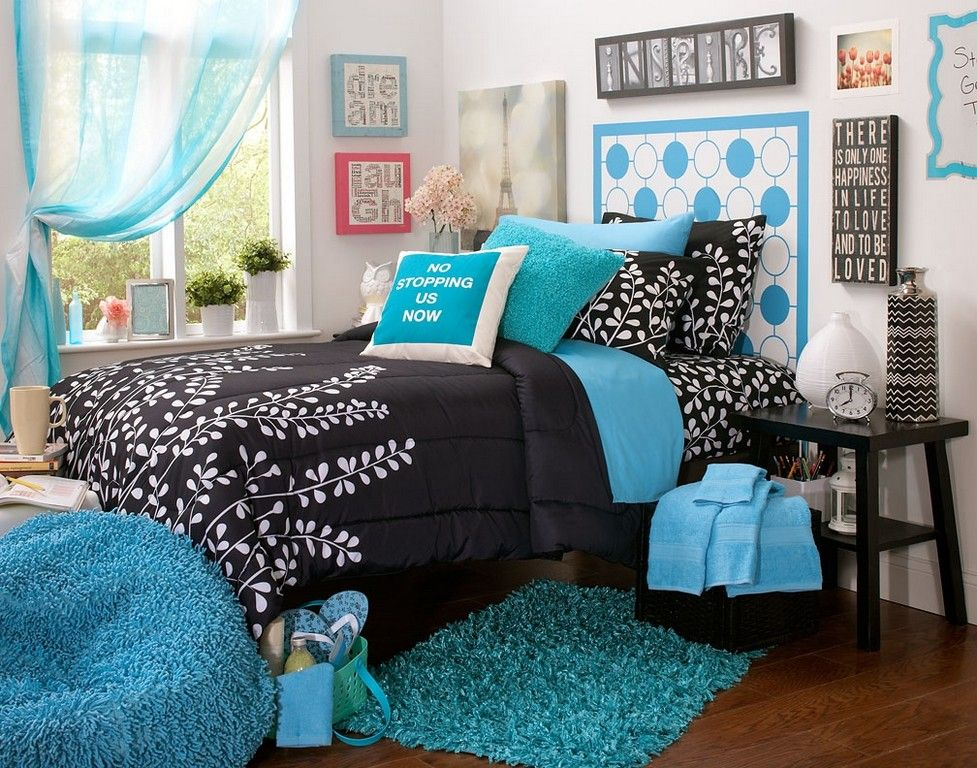 20 Wonderful Teal Bedroom Inspirations The Urban Interior Black Bedroom Design White Bedroom Aqua Blue Bedrooms