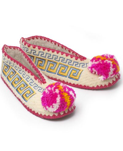 9efb25ea97a Greek Slippers from nonesuch things