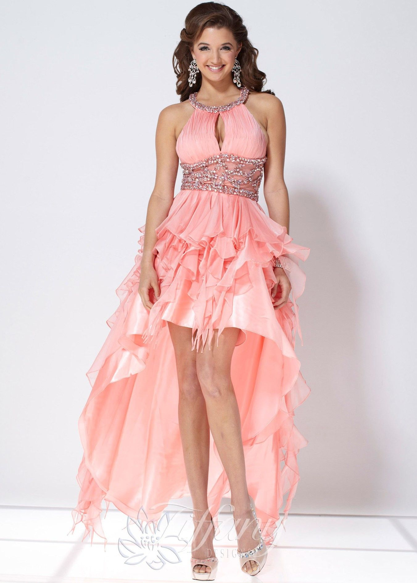 Tiffany Designs   vestidos de fiesta   Pinterest   Vestidos de ...