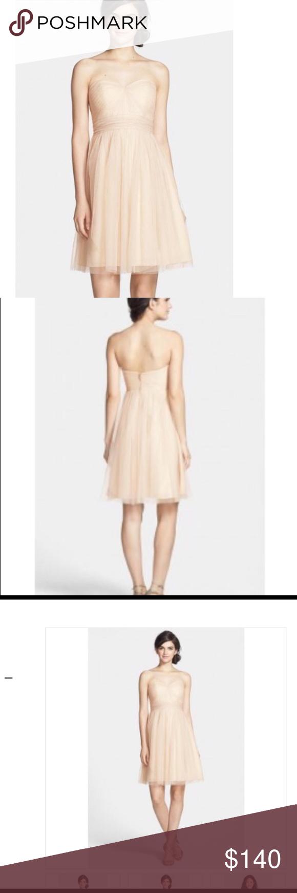 JENNY YOO WREN CONVERTIBLE TULLE FIT & FLARE DRESS Breathtaking dress, never been worn. Jenny Yoo Dresses Strapless