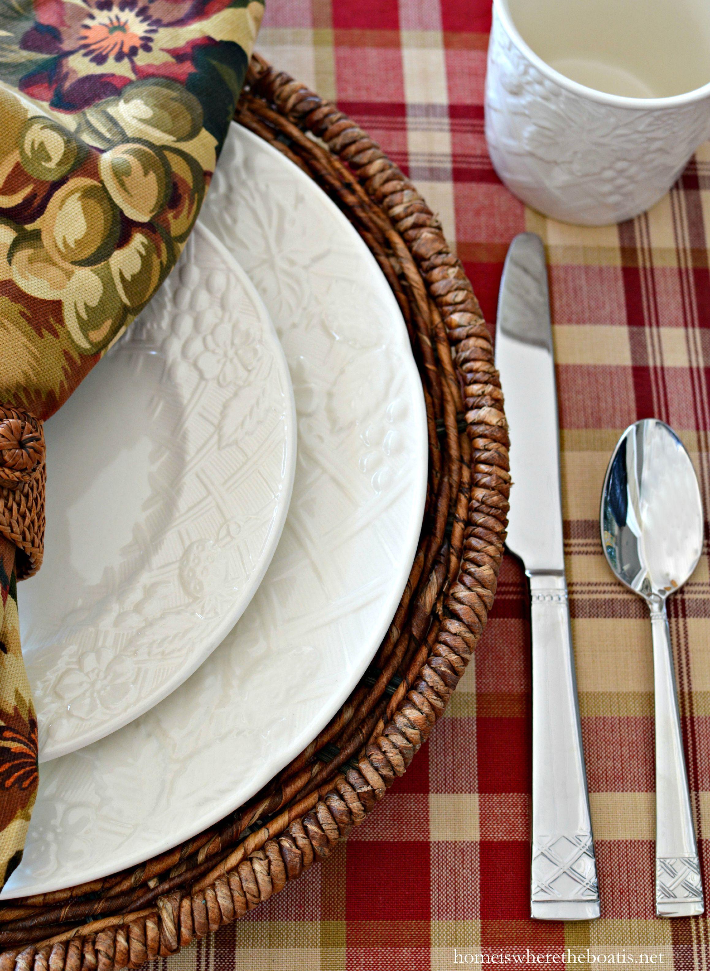 Mikasa English Countryside Dinnerware | homeiswheretheboatis.net #tablescape & Mikasa English Countryside Dinnerware | homeiswheretheboatis.net ...