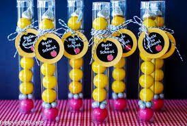 Back-to-school gumball pencil gifts, fun, cute