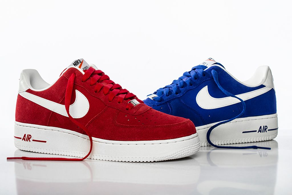 finest selection b0602 dfa2e nike air force one  Nike Air Force 1 Hyper Blue and University Red   Hypebeast