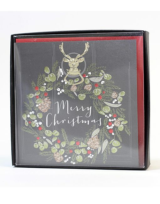 Luxury Boxed Belly Button Designs Christmas Cards