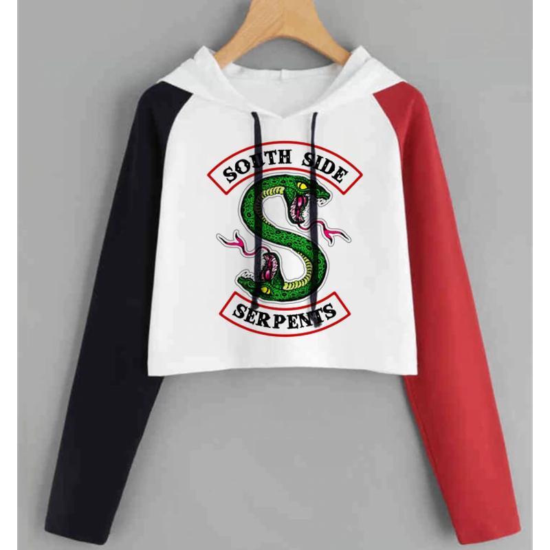 South Side Serpents Streetwear Tops Hoodie PU27