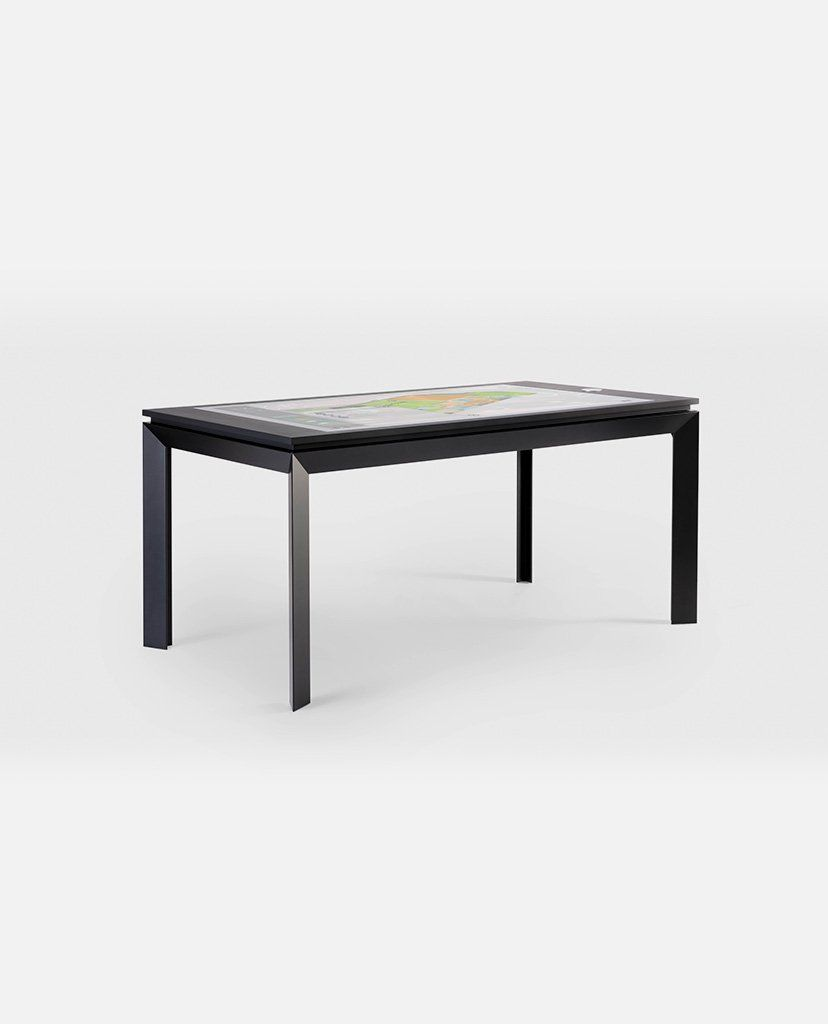 D Easy The Simple And Elegant Multitouch Interactive Table Multitouch Table Touch Screen Table Interactive Table
