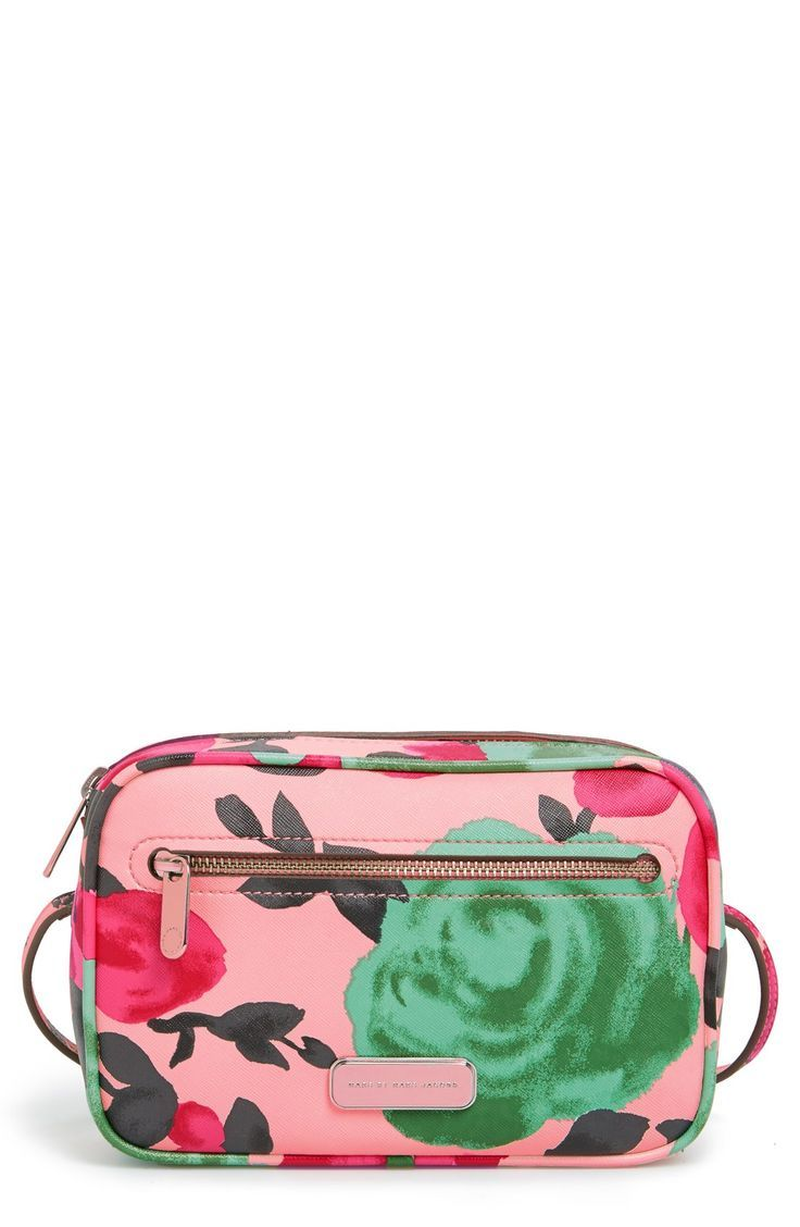 Marc By Marc Jacobs Jerrie Rose Sally Flower Print Crossbody