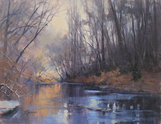 Peaceful Adventure by Barbara Jaenicke Oil ~ 14 x 18