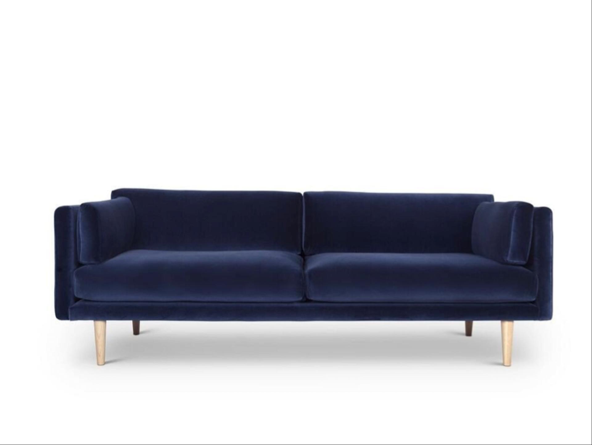 Genial Sofa Velour Ideen Von Mørkeblå Af Sigurd Larsen