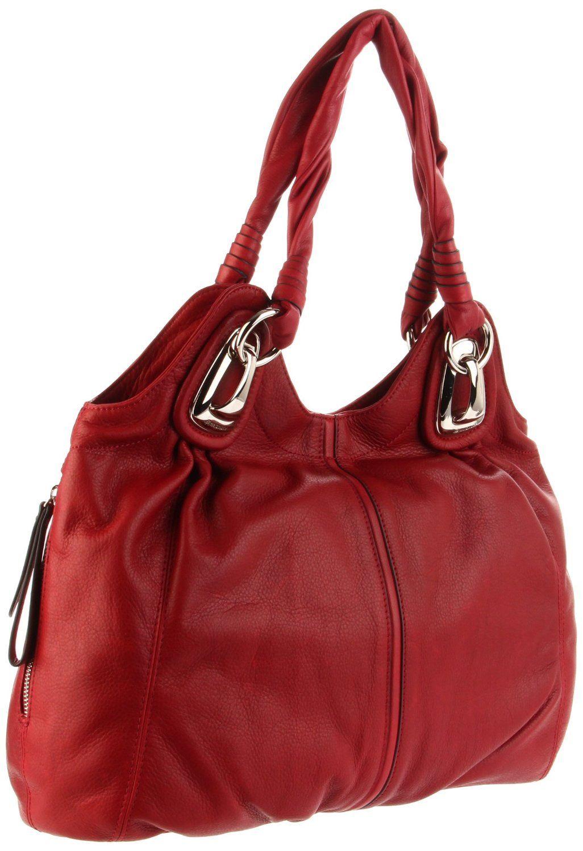 7b0750372bda B. Makowsky handbag I have this one in black but loving the red ...