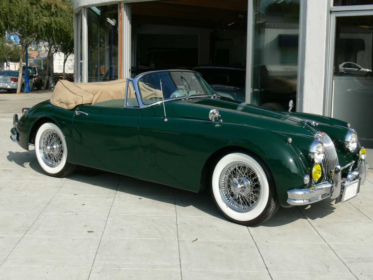 Jaguar XK Roadster 1957.