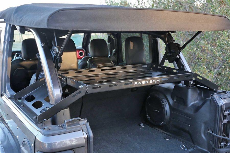 Fabtech Jl Interior Cargo Rack Fts24211 Cargo Rack Jeep