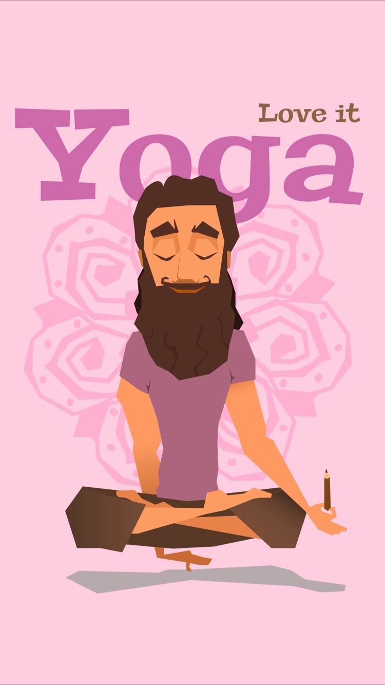 Tap To Get Free App Relaxing Pink Yoga Wallpaper For Your Iphone 7 From Everpix App Happy International Yoga Day Yoga For Kids Best Yoga
