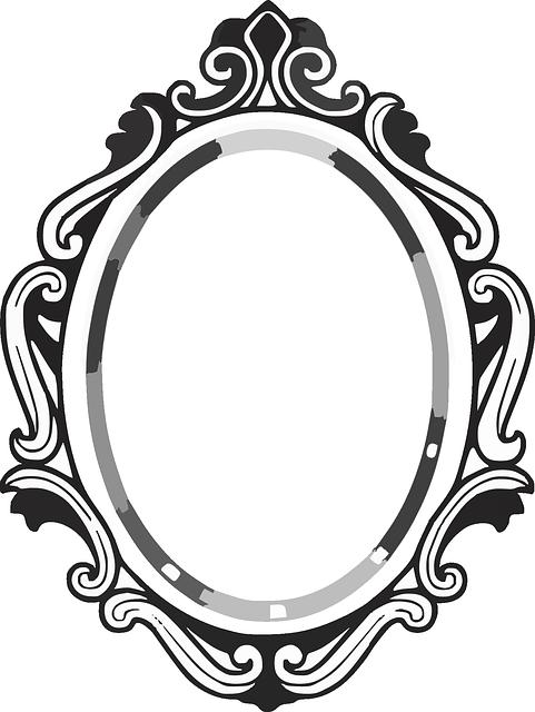 Line Drawing Mirror Frame Google Search Espejo Dibujo Marcos Para Espejos Marcos De Cuadros