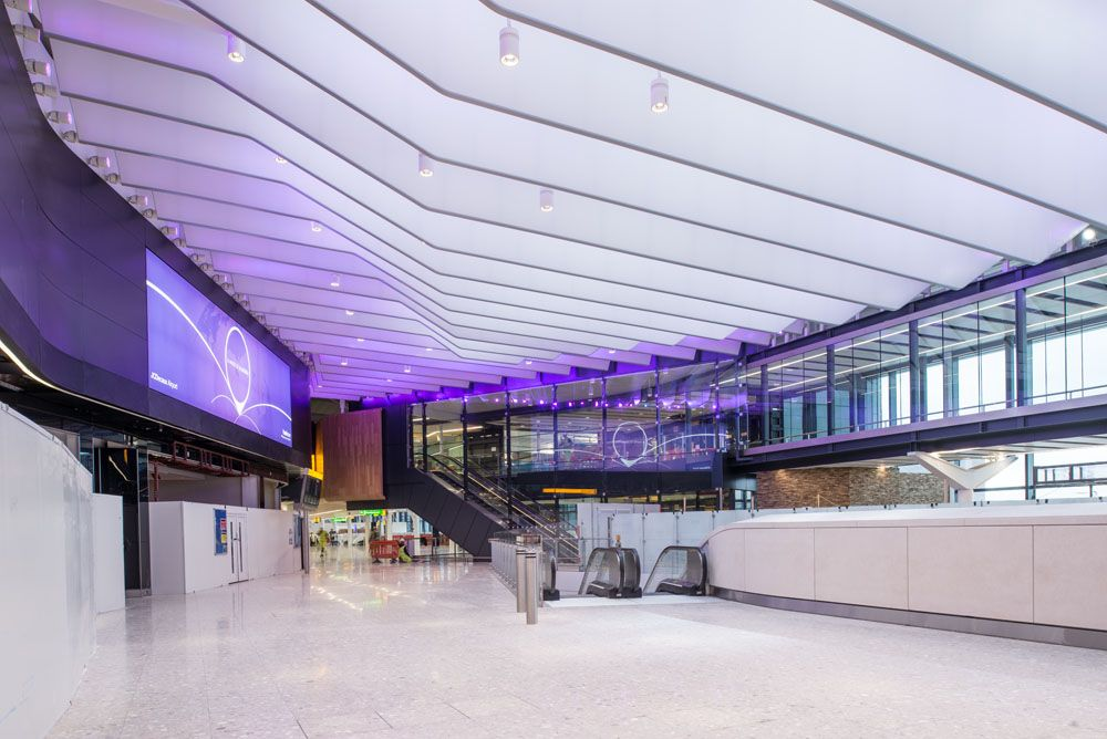 Heathrow, the new Terminal 2B Phase 2.