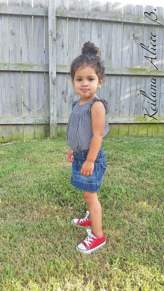 #topknot #redchucks #toddlerfashion #toddler #naturalhair