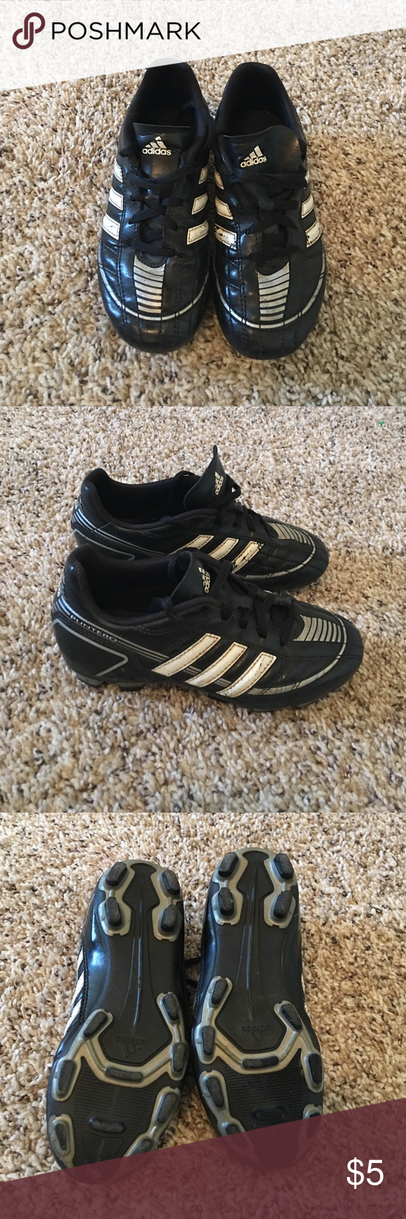 Adidas kids soccer cleats. Size US 1 Kids soccer cleats size US 1 UK 13  1 2. Good condition 3f438f1f588