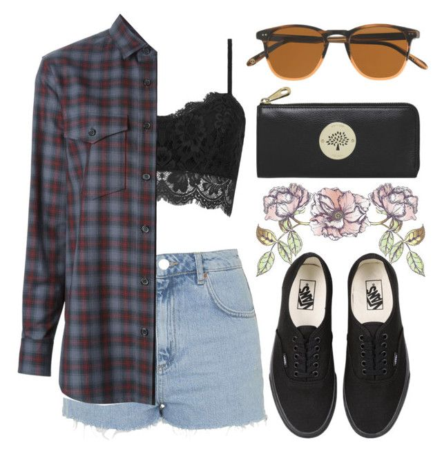 """""""Life is a play. It's not its lenght but its performance that counts"""" by ana-mars-rodrigues ❤ liked on Polyvore featuring Topshop, Yves Saint Laurent, Universal Lighting and Decor, Vans, J.Crew and Mulberry"""