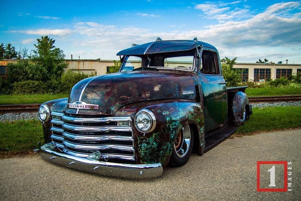 Patina Finished Chevy Advance Design Pickup With A Fulton