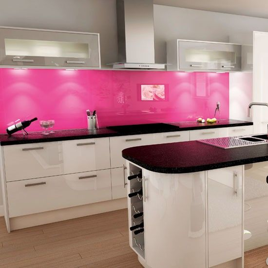 Pink And White Kitchen | Kitchen Colour Schemes   10 Ideas | Housetohome.co.
