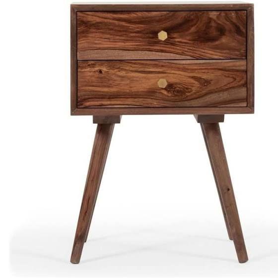 Best Round Modern Nightstand Wooden Nightstand Modern 400 x 300