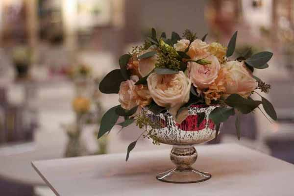 Our Favourite Centrepieces For Wedding Tables Vases Vessels Urns Churns