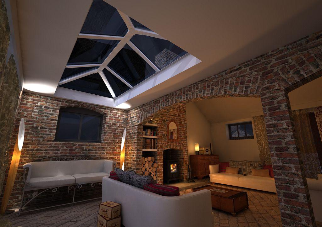 Glass Roof Lantern Activ Glass 1500mm X 3000mm Roof Lantern Flat Roof Skylights Skylight