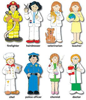 Preschool Community Helpers Clip Art