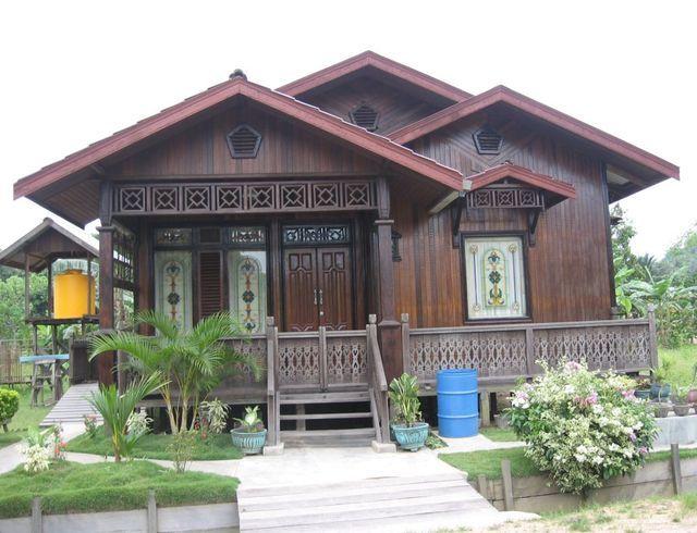 Gambar Model Dan Desain Rumah Kampung Minimalis Bp Pinterest