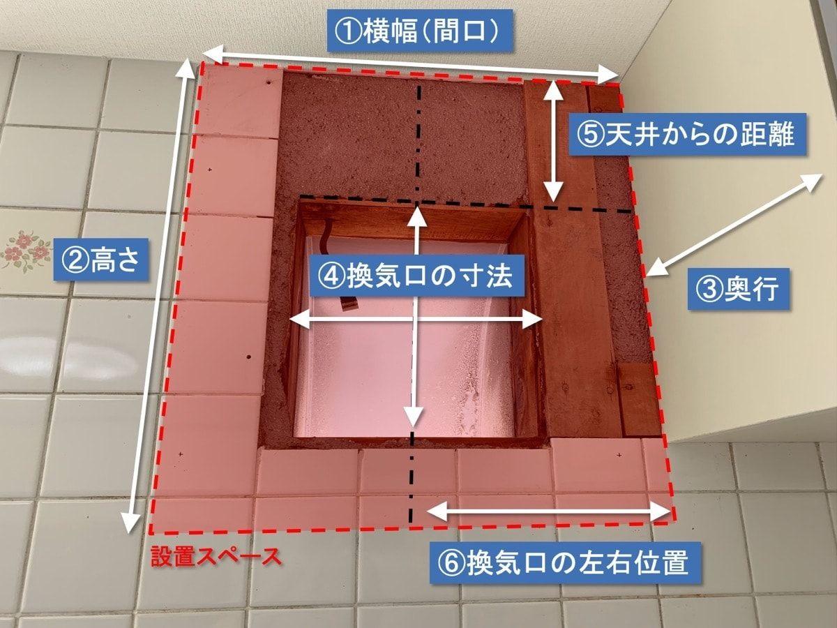 レンジフードと換気扇をdiyで交換リフォームする方法 レンジフード 換気扇 リフォーム