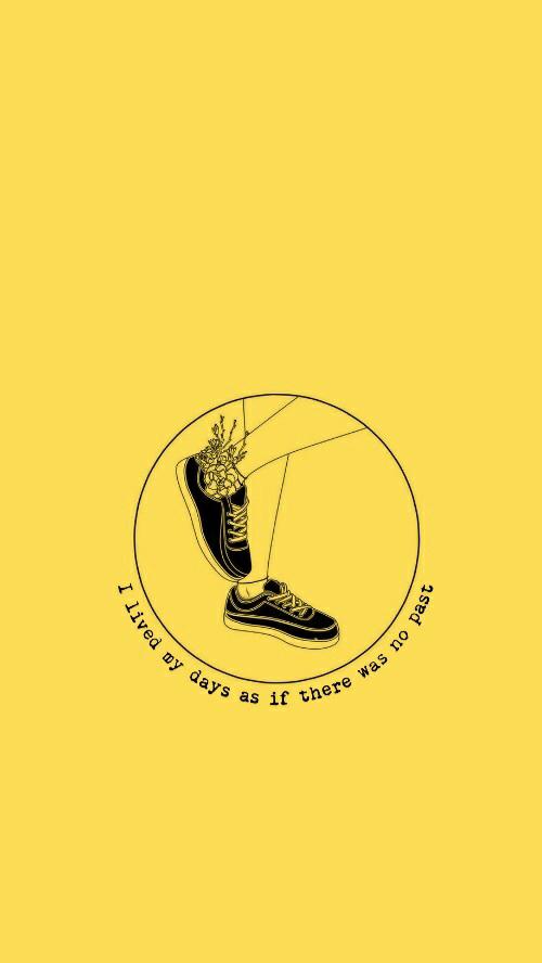 Facebook Aesthetic Logo Yellow