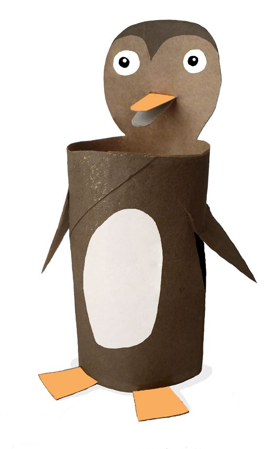 Toilet Paper Roll Penguin Crafts I Like Pinterest Toilet Paper