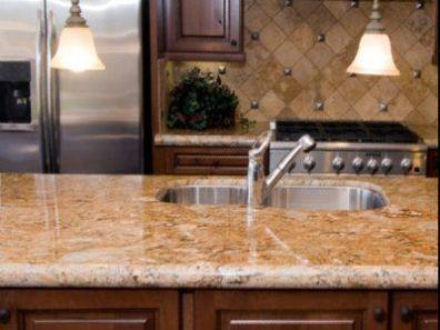 Backsplash Countertop Cabinet Stain Ideas Granite