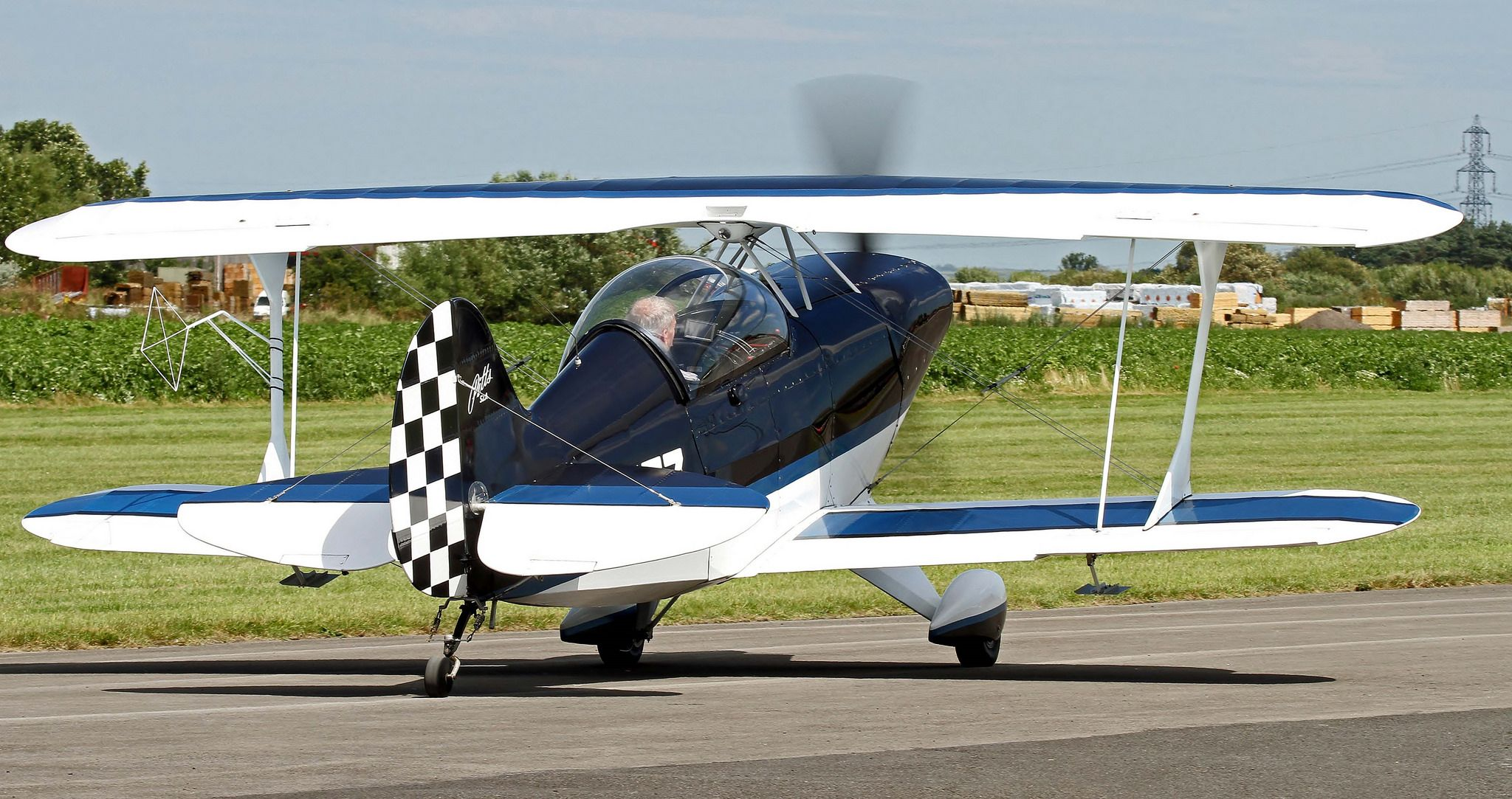 G Pitz Pitts Special S2a Breighton Biplane Aviation Special