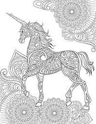Mandala A Imprimer Licorne Recherche Google