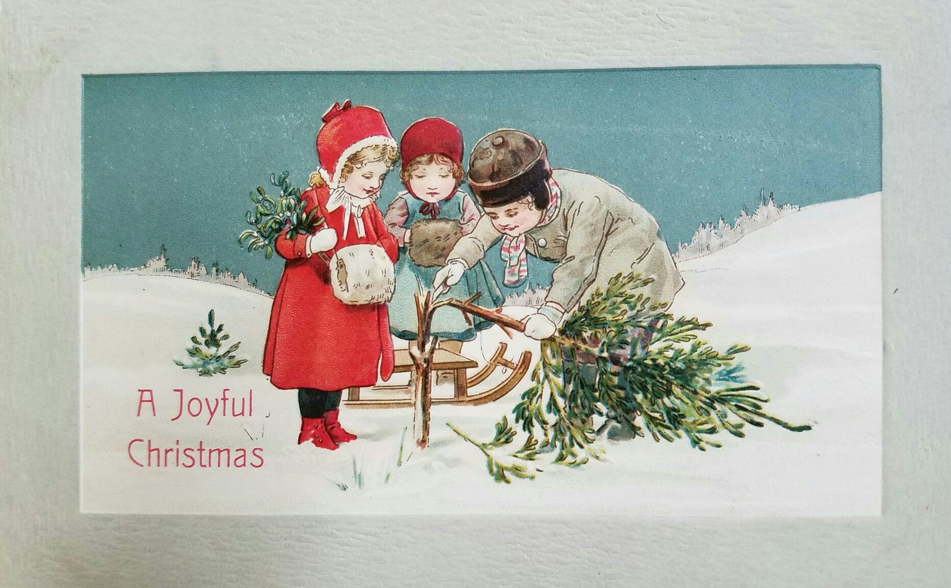 Christmas Cards From The Early 1900s Free Images For Our